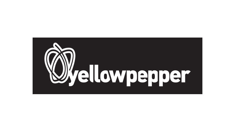 yellowpepper black and white logo